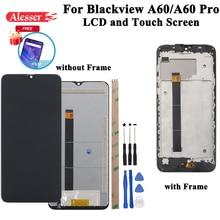 Alesser ل Blackview A60 A60 برو شاشة الكريستال السائل و شاشة تعمل باللمس اختبار الجمعية إصلاح أجزاء ل Blackview A60 A60 برو الهاتف