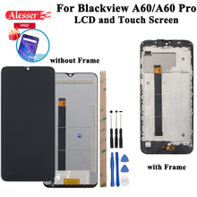 Alesserためblackview A60 A60 proのlcdディスプレイとタッチスクリーンテストアセンブリの修理部品blackview A60 A60プロ電話