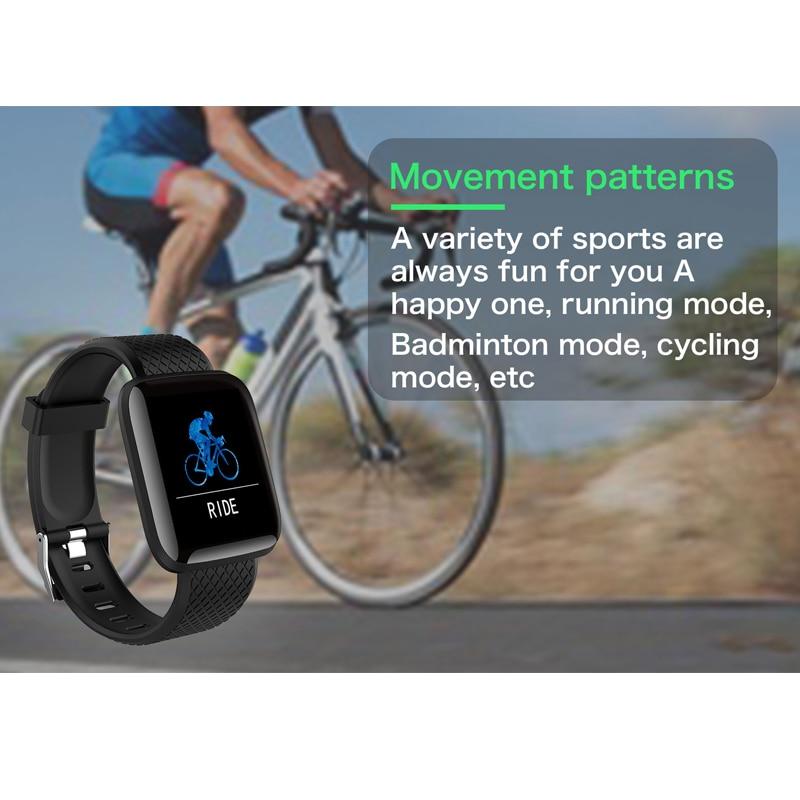Pulseiras inteligentes de fitness saúde banda pedômetro