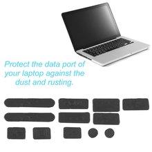 Профессиональный силикон защита от пыли заглушка крышка пробка ноутбук пылезащитный USB пыль вилка крышка комплект подходит для Macbook в наличии