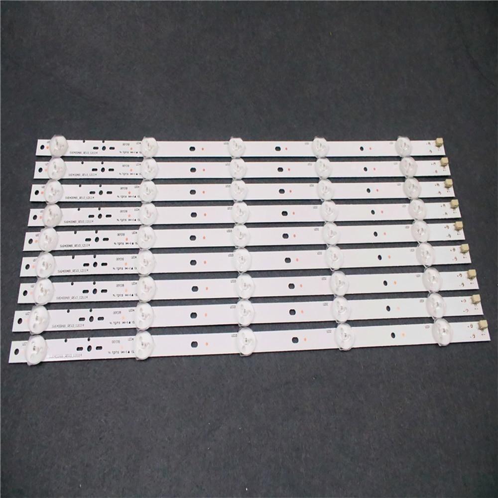1set=10pcs FOR SONY KLV-40R470A LCD TV LED Back light SVG400A81 _REV3_121114 S400DH1-1