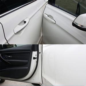 2,5 M/5M/10M U тип универсальные защитные щитки для края автомобильной двери отделка Стайлинг формовочная защитная полоса Защита от царапин для ...