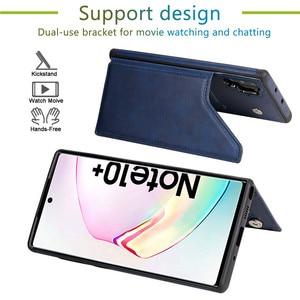 Роскошный кожаный чехол S20ultra для Samsung Galaxy Note 10 9 8 S20 S10 E 5G S9 S8 Plus A50 A30 S, чехол-кошелек с откидными отделениями для карт