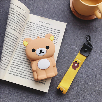 Hot Sale Cartoon Bear Coin Purse Girls Key Case Wallet Children Queen Headset Bag Coin Bag Kids Wallet Silicone Zipper Pouch Bag 2017 new designs solid colors coin purse silicone round dollar coin wallet portable key bag case headphone storage zipper pouch