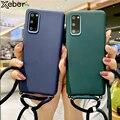 Для Samsung M30s M20 A01 A21 A31 A81 A20S A10E A6 A7 A8 плюс A9 2018 кросс-боди шнурки ожерелье плечевой шейный ремень телефонные чехлы