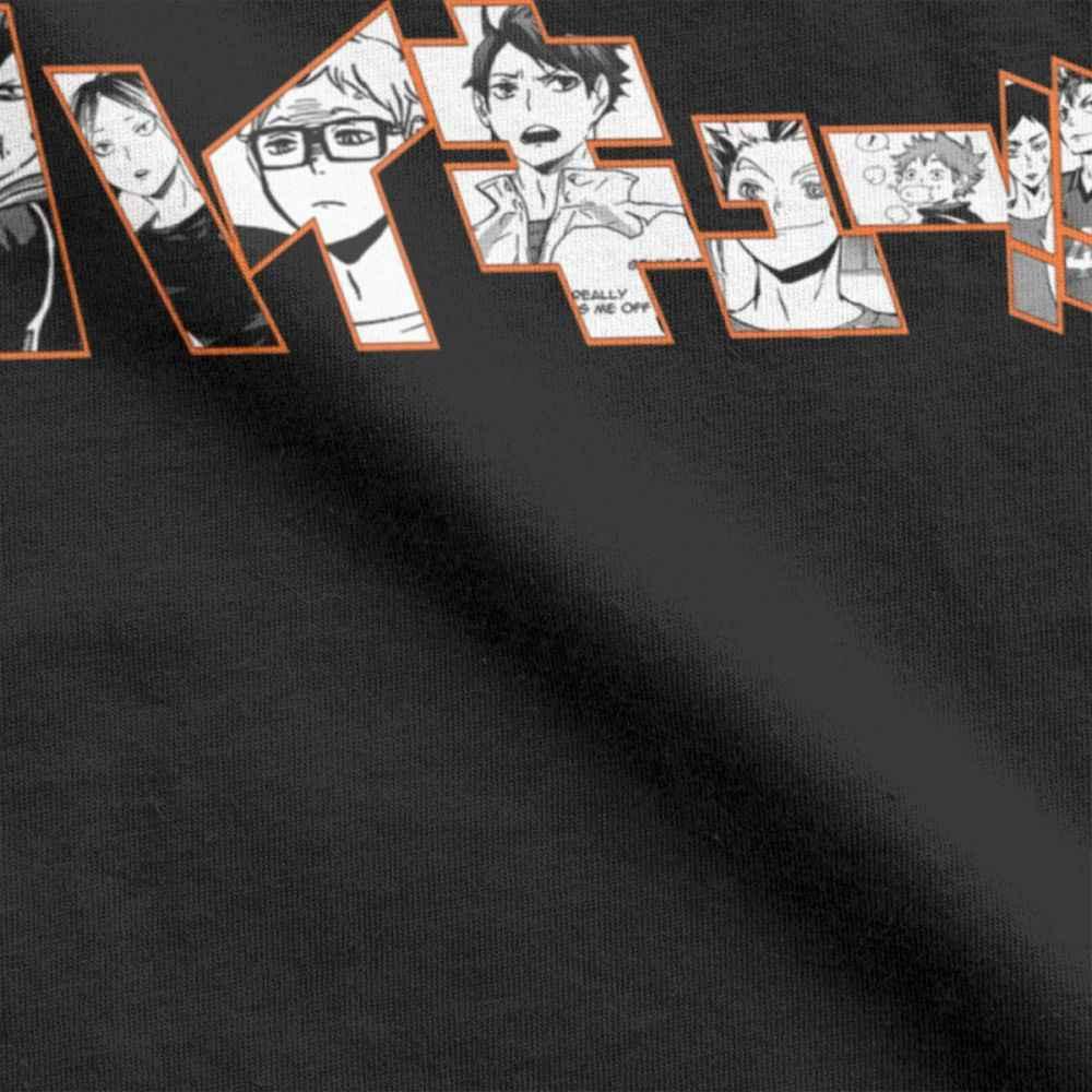 Haikyuu Kageyama Tobio Kenma חולצה גברים Kuroo אנימה Bokuto Oya מנגה Shoyo כדורעף 100 פרימיום כותנה טי T חולצות