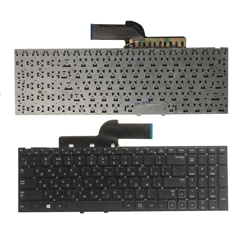 NEW Russian  Keyboard For Samsung NP300E5C 300E5C NP300E5X 300E5X  RU Lsptop  Keyboard No Frame Black
