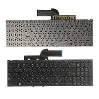 Novo teclado russo para samsung np300e5c 300e5c np300e5x 300e5x ru lsptop teclado sem quadro preto|Teclado de substituição| |  -