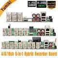 5 in 1 4CH/8CH/16CH AHD DVR Surveillance Security CCTV Recorder DVR 1080N Hybrid DVR Board For Analog AHD CVI TVI IP