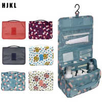 HJKL New Packing Cubes Waterproof Travel Large Capacity Storage BagFashion Travel Accessories Portable Hook Wash Cosmetic Bag