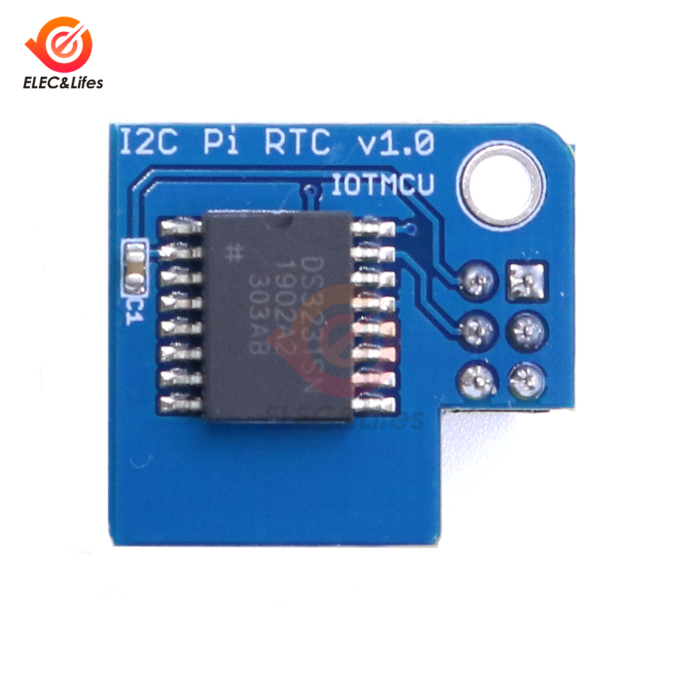 4pcs Set DS3231 High  RTC Clock Module Memory Module for Raspberry Pi