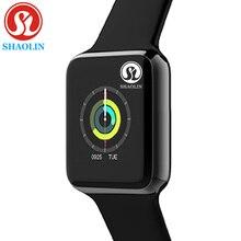جديد بلوتوث ساعة ذكية للرجال النساء SmartWatch سلسلة 4 ل iOS آيفون أندرويد الهاتف أبل ساعة huaweiشاومي (زر أحمر)