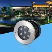 Напольный светильник 3 Вт 5 7 9 встраиваемый уличный светодиодный
