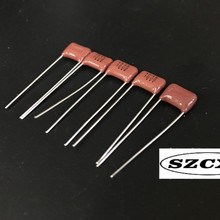 И 50 шт. Конденсатор CBB 100V154K 0,15 мкФ/100 в 150NF пленочный конденсатор расстояние между ногами 7,5 мм