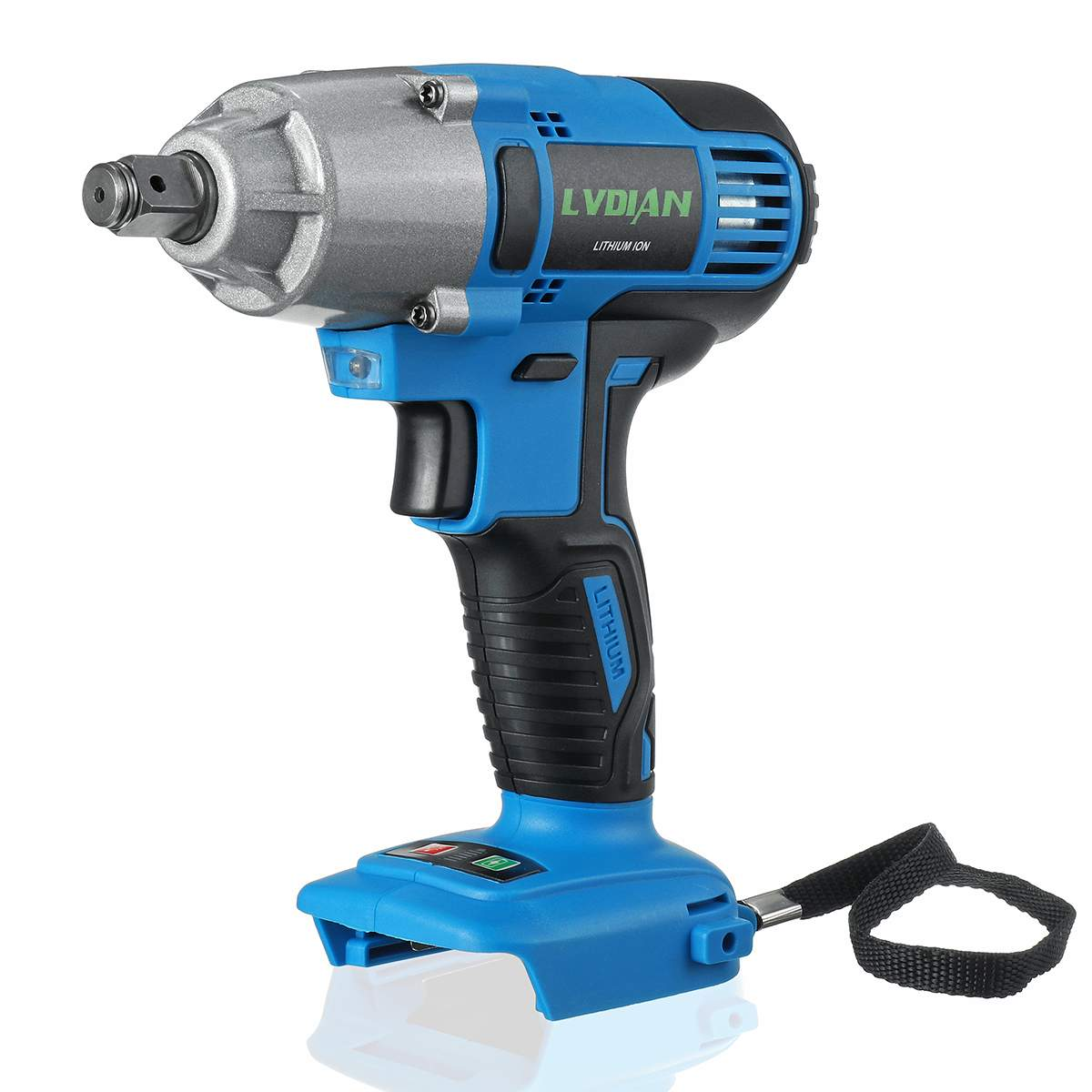 18V 320N.m Cordless Electric Impact Wrench  1/2