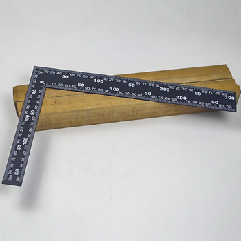 Inżynierowie ze stali metalowej spróbuj zestawu kwadratowego pomiaru drewna linijka kątowa 90 stopni instrumenty pomiarowe narzędzia pomiarowe tanie i dobre opinie LETOOL CN (pochodzenie) Woodworking G3371 Steel