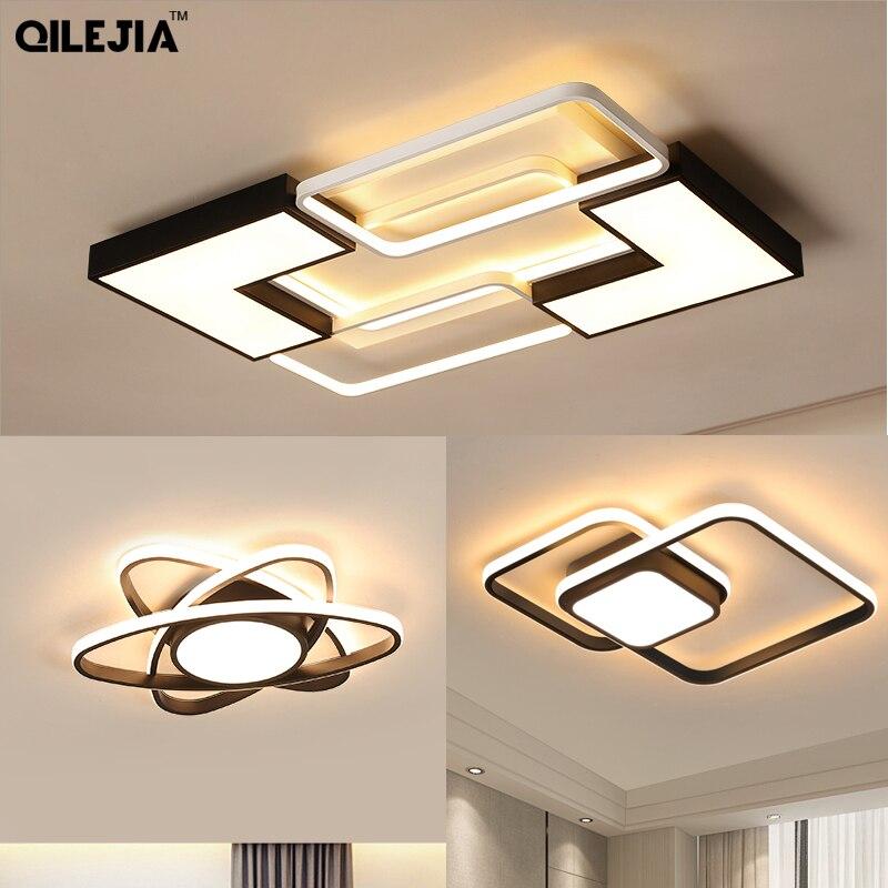 Arañas LED moderna para sala de estar, dormitorio, cocina, luminarias, lámpara LED montada en el techo, lámparas de araña, lámpara