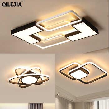 Moderno led lustres para sala de estar quarto cozinha luminárias led teto montado lustre iluminação da lâmpada