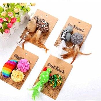 Los ratones Animal gato juguetes de hierba gatera gato de bola productos para mascota juguetes gato suministros gato de juguete