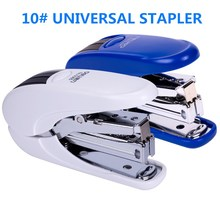 Deli 0365 Labor-saving Stapler. No.10 Nail Small Mini Stapler Set. Office Learning Supplies Student Manual Thick Layer Stapler 2017 one piece new valuable 2016 deli 0399 210 pages thick stapler hot sale random color delivery