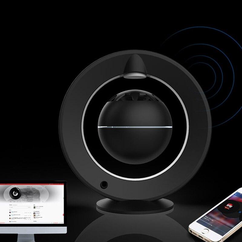 Levitazione Magnetica Luce di Notte Speaker Bluetooth Aperto Intervista di Design a 360 Gradi Stereo Surround Galleggiante Altoparlante Esperienza - 5