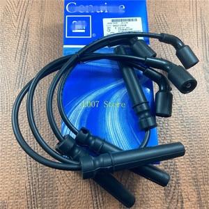 Image 1 - 4PCS/Set Original Ignition Wire Cable Kit 96497773 96211948 For Buick  EXCELLE  1.6L AVEO CRUZE REZZO DAEWOO KALOS LANOS NUBIRA