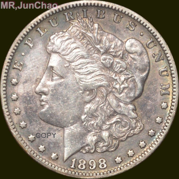 U.S. 90% silver Date 1898-s Morgan Dollars copy coins