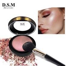 D.S.M Mineralize Skinfinish прессованная пудра, осветляющая, водостойкая, для макияжа лица, бронзер, хайлайтер, косметика, минеральная компактная пудра