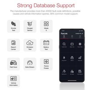 Image 3 - Bluetooth ELM327 for iPhone Android OBDII Code Reader V1.5 V2.1 ELM 327 iOS Faslink Free Upgrade
