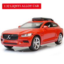 Echo Acousto-optic 4-door Childrens Toy Car with Simulated Mini Alloy Model