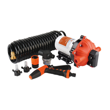 NEW SEAFLO 70 PSI On Board Washdown Deck Pump Kit RV Boat Marine Agricultural 5.5 GPM Replace Jabsco Shurflo with Hose