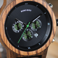 BOBO BIRD Women Watches relogio feminino Wooden Ladies Quartz Stopwatch Wristwatch Gift for Girl Friend in box saat erkek clock