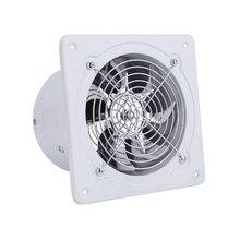 Вытяжной вентилятор, 7 дюймов, вытяжной вентилятор, настенный, низкий уровень шума, вентиляционный вентилятор для дома, ванной, кухни, вытяжной вентилятор, вытяжка, 50 Вт, 220 В