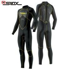 Slinx 1101 гидрокостюм для дайвинга Мужской 3 мм водолазный костюм неопрен плавательный гидрокостюм для серфинга триатлона мокрый костюм купальник полный боди