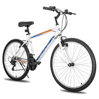 HILAND 26 inch 18 speed Mountain City Bicycle Mountain Bike Bicycle with Mechanical CST Tires|Bicycle| |  -