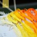 6 шт. настраиваемая нить-шелковая нить для вышивки/вышивка Spiraea/шелковая линия/Нитки с ручной вышивкой-