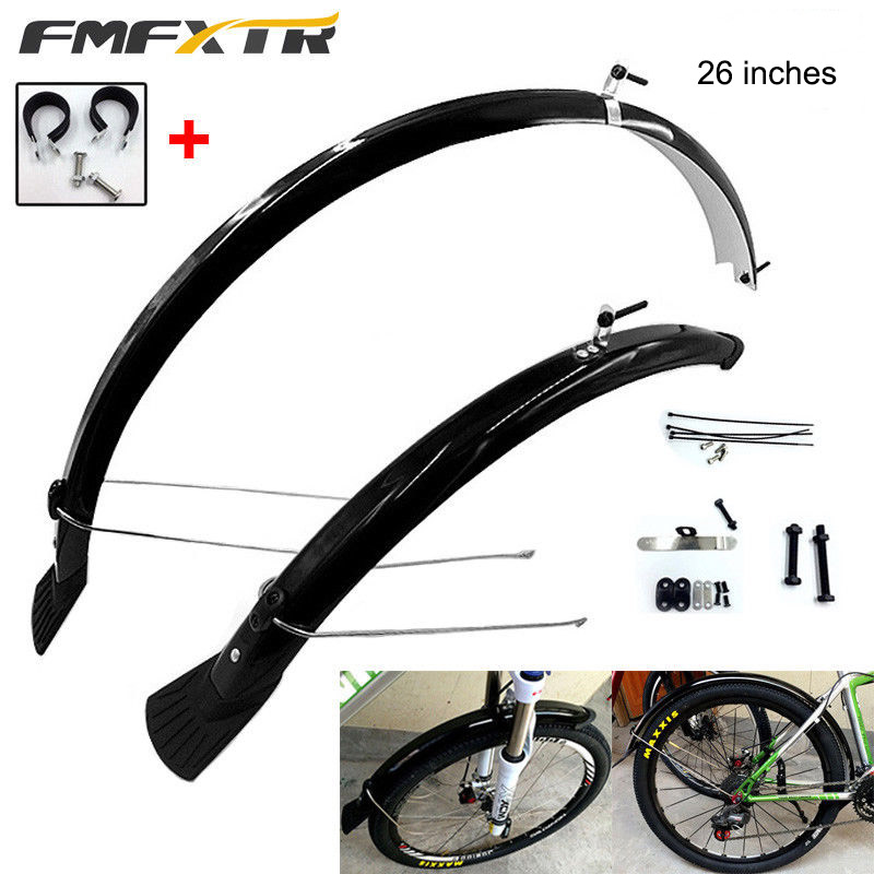 "700c Road Bike Front Mudguard & Rear Fender 26"" inches Mud Guard Fender For Mountain Bike Bicycle