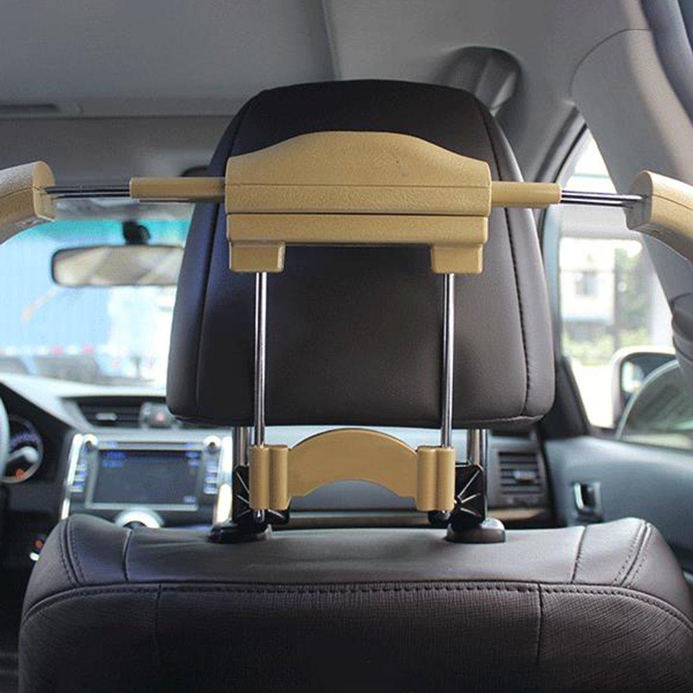 New Luxury Auto Car Hanger Clothes Hook Jacket Suit Holder Headrest Rubber Paint