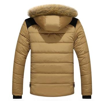 2020 Fur Collar Hooded Men Winter Jacket Men Coat Snow Parka Down Jacket Outerwear Thick Thermal Men Warm Wool Liner Coat M-6XL