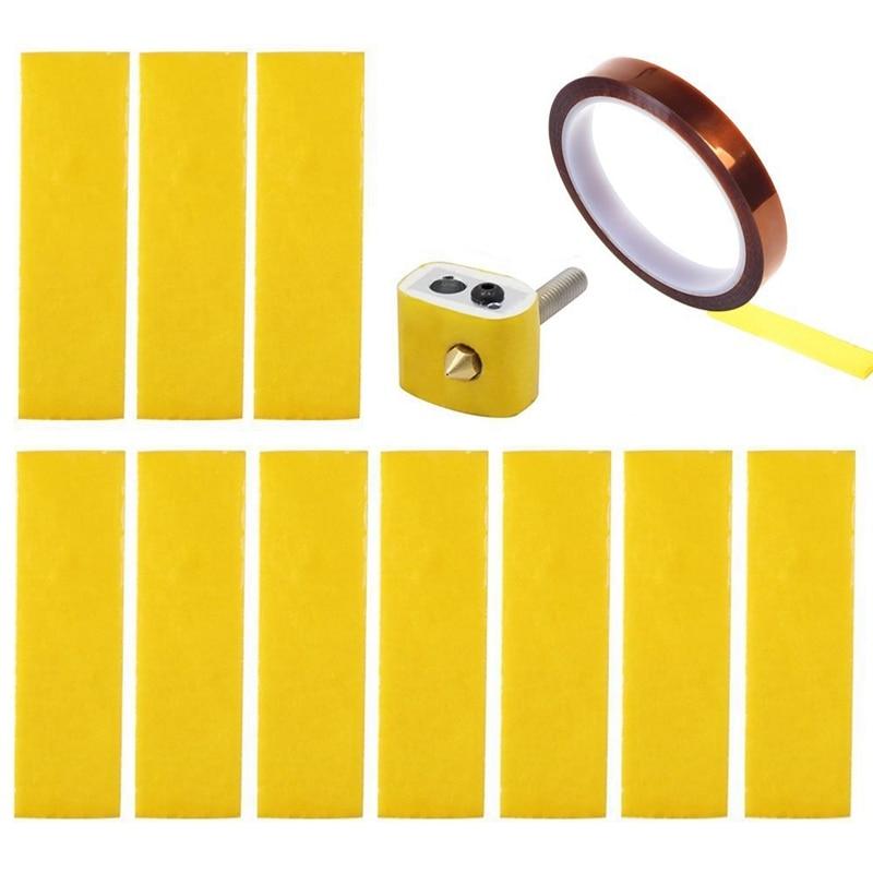 10PCS Flashforge 3D printer high temperature cotton Replacement Insulation Tape
