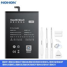 Nohon батарея для xiaomi 8 9 se mi 4s cc9 макс 3x3 mi5 5x высокое