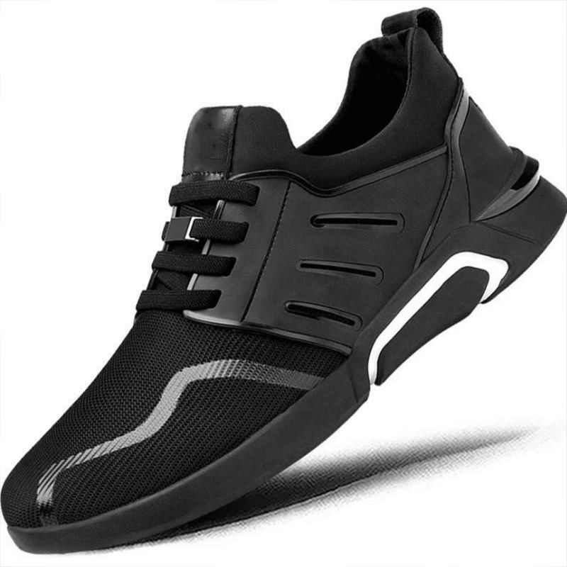 Мужские кроссовки дышащий для занятий спортом на улице обувь весна осень туфли без каблуков тренировочные кроссовки Zapatos De Hombre C8211