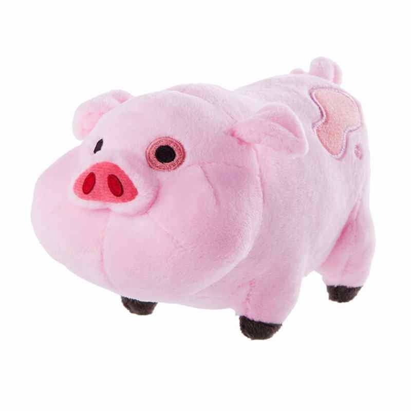 Free Shipping Original 16cm 1pcs Gravity Pink Pig Waddles Plush Toy With Tag Patch For Birthday Gift