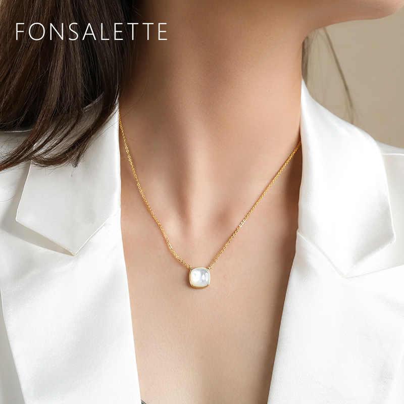 Silver Pearl Pendant Dainty White Pearl Pendant White Pearl Pendant Natural Pearl Minimalist Pearl Jewellery
