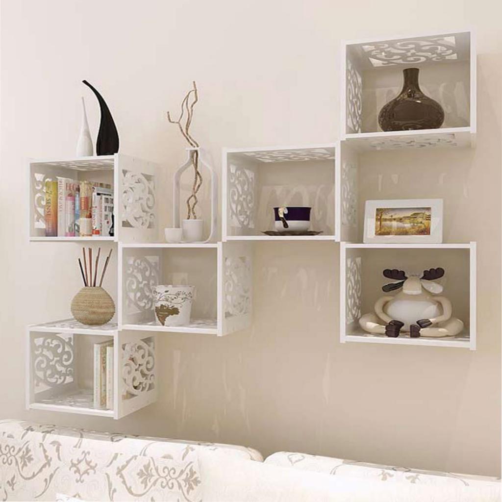 Bathroom/Kitchen Wall Mounted Cabinet Hanging Storage Shelf Cupboard Wall Mount Storage Cabinet Book Shelf Magazine Rack