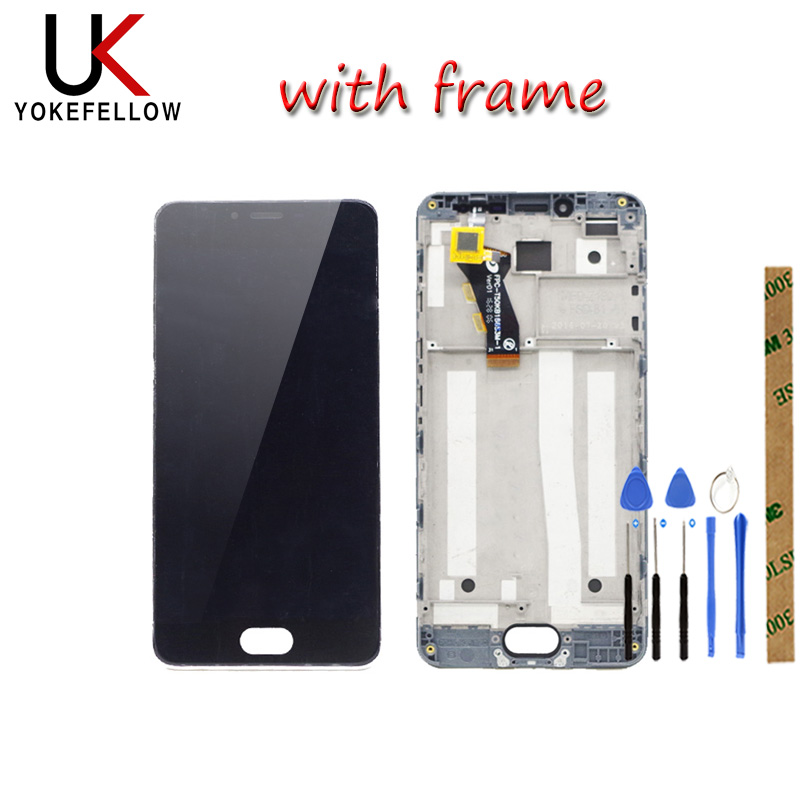 LCD <font><b>Display</b></font> For <font><b>MEIZU</b></font> <font><b>M3S</b></font> / <font><b>M3S</b></font> <font><b>mini</b></font> / Meilan 3S Y685H Y685Q LCD <font><b>Display</b></font> Digitizer Screen Complete Assembly image