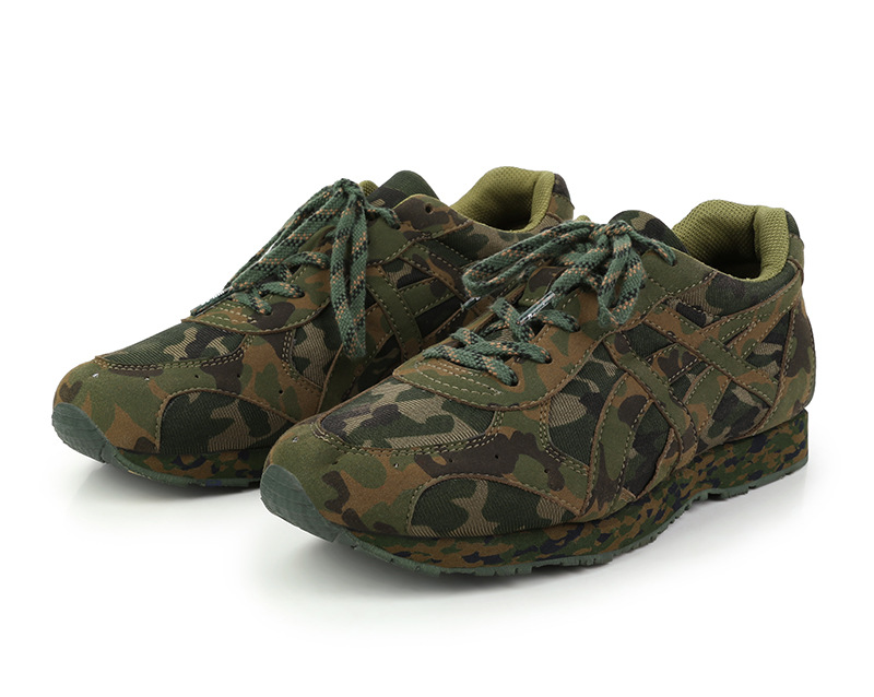 New Style Genuine Product Training Black And White With Pattern Running Shoes Camouflage Running Shoes 07A Training Shoes Anti-o