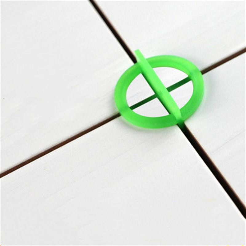 50pcs Removable Tile Leveling System Slit Locator Floor Laying Tile Alignment Leveler Clips Construction Tool 1.5/2/3mm