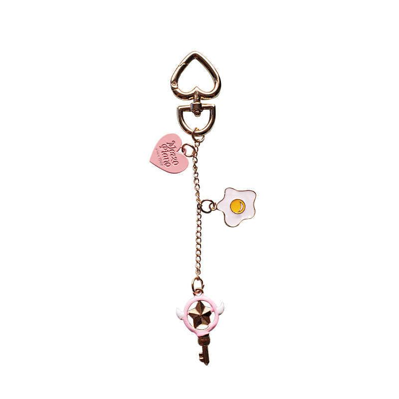 Sailor Moon Cosplay anahtarlık araba anahtarlık okul çantası kolye severler çünkü sahne anahtarlık kolye Anime yetişkin noel hediyesi