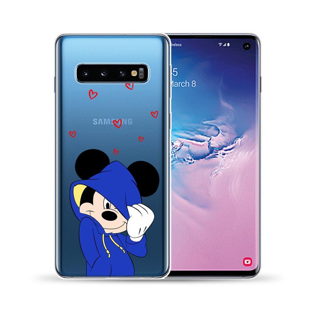 Cartoon Cute Princess Bear Soft TPU Case Cover For Samsung Galaxy S10 5G S10E S8 S9 S10 Plus Lite S6 S7 Edge Phone Cases